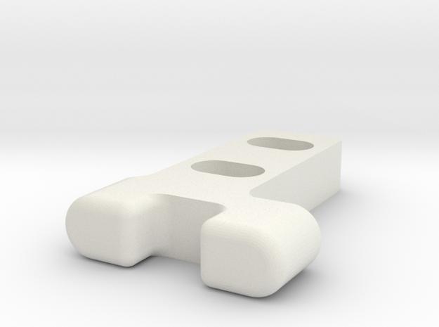 Gitterrostführung-2 in White Natural Versatile Plastic