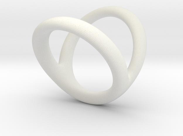 Ring 6 for fergacookie D1 1 D2 2 Len 17 in White Natural Versatile Plastic
