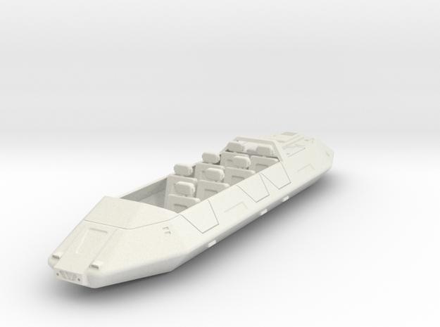 AC15 Air/Raft 7 Passenger (28mm) in White Strong & Flexible