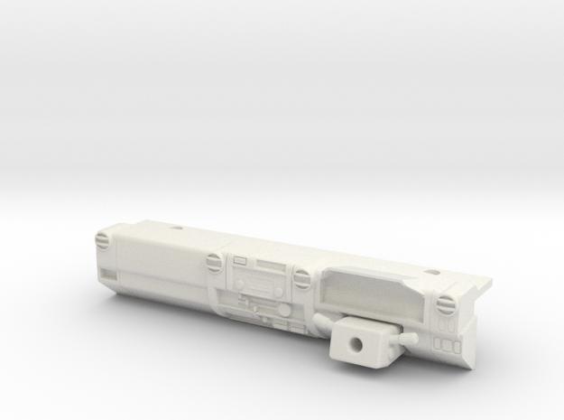 LC70 - RHD Dash in White Natural Versatile Plastic
