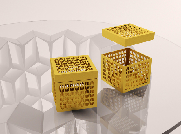 """Jewels Box """"Younica"""" 3d printed"""