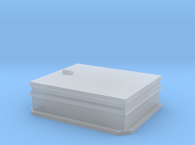 HO Scale Roof Hatch in Smooth Fine Detail Plastic
