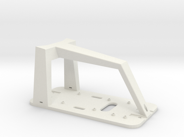 Donkey Car Chassis in White Strong & Flexible