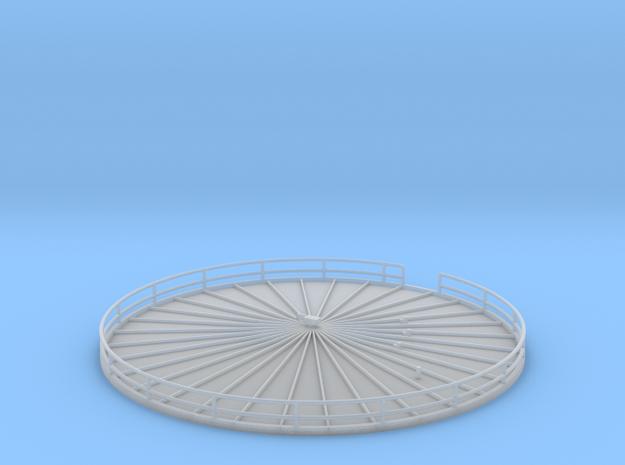 'N Scale' - Fermentation Top - 3.5 in - diameter in Smooth Fine Detail Plastic