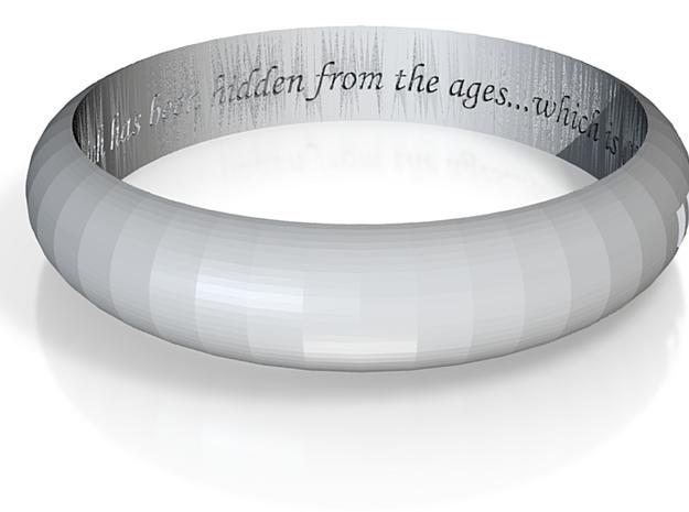 Fibonacci Ring 3d printed