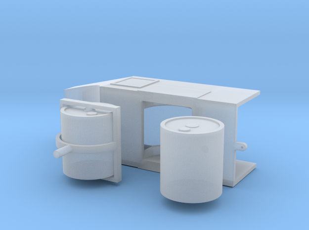 Straßenwalze ohne Verdeck 1:76 - OO in Smooth Fine Detail Plastic