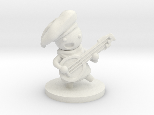 Bard in White Natural Versatile Plastic