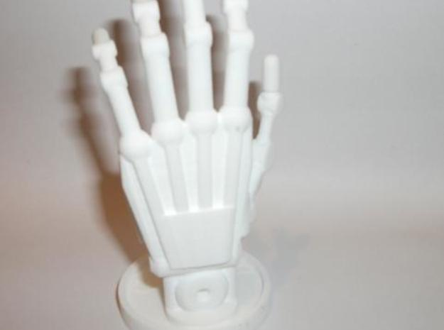 Sculpture Hand 100mm 3d printed Description