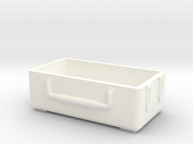 Chem Box in White Processed Versatile Plastic