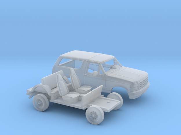 1/160 1992-96 Ford Bronco Kit in Smooth Fine Detail Plastic