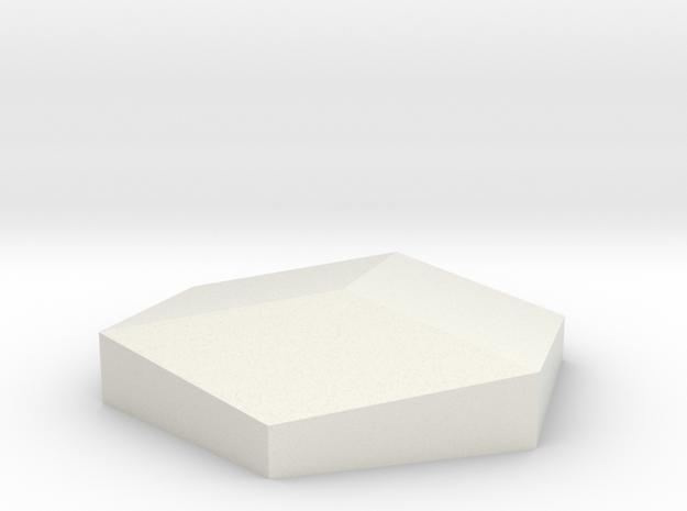 SqueezedBox in White Natural Versatile Plastic