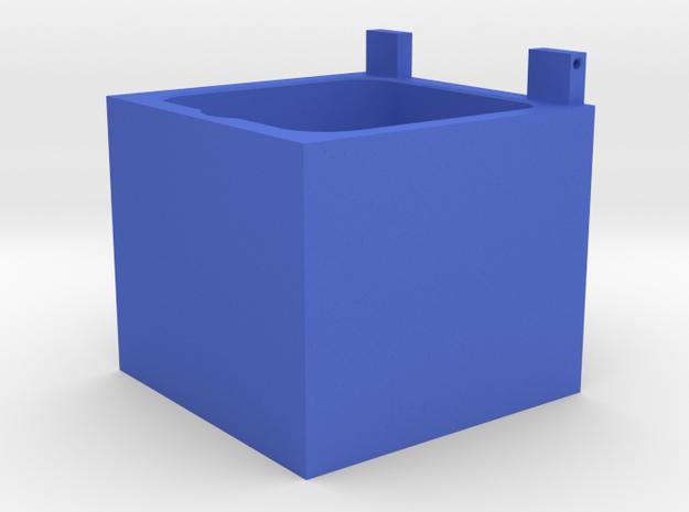 "Mulholland Drive ""Blue Box"" -  1 of 4 - Box Body in Blue Processed Versatile Plastic"