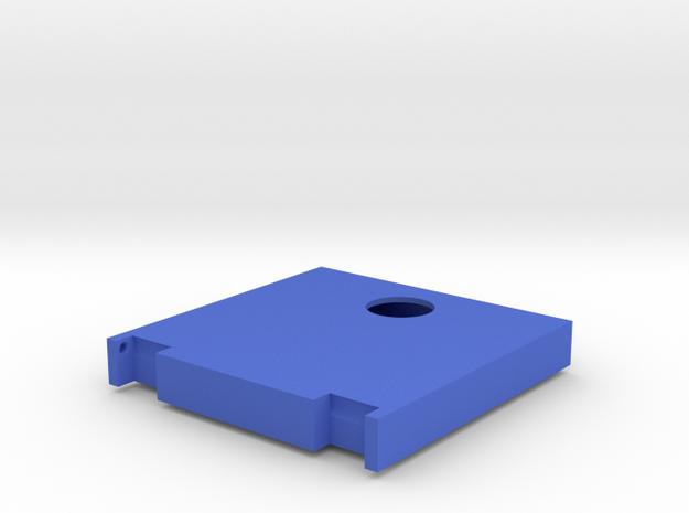 "Mulholland Drive ""Blue Box"" - 2 of 4 - Upper Lid in Blue Processed Versatile Plastic"