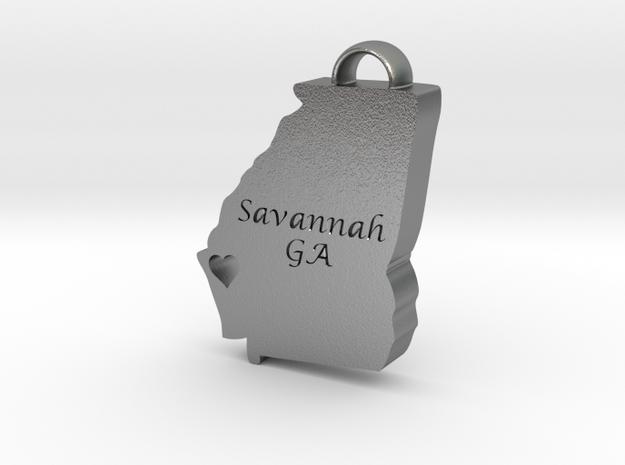 Home is Where the Heart Is: Savannah, Georgia in Natural Silver