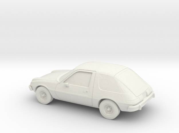 1/87 1975-77  AMC Pacer in White Strong & Flexible