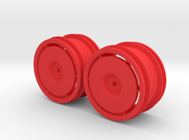 Marui Ninja Front Rims in Red Strong & Flexible Polished
