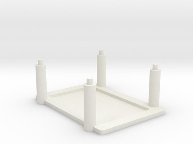Raspberry Pi, Beagle Bone Black Rack in White Natural Versatile Plastic