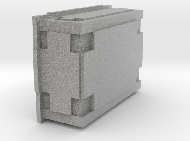 Wookiee Ammo Box (large) in Metallic Plastic