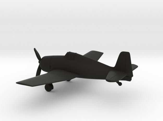 Grumman F6F Hellcat in Black Natural Versatile Plastic: 1:160 - N