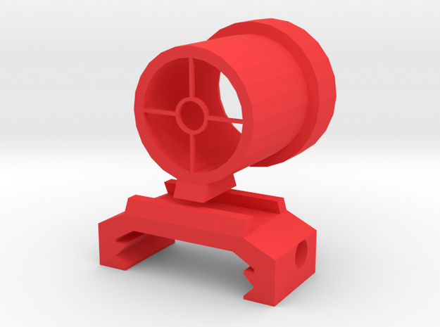 Sydex Adjustable Rear Sight in Red Processed Versatile Plastic
