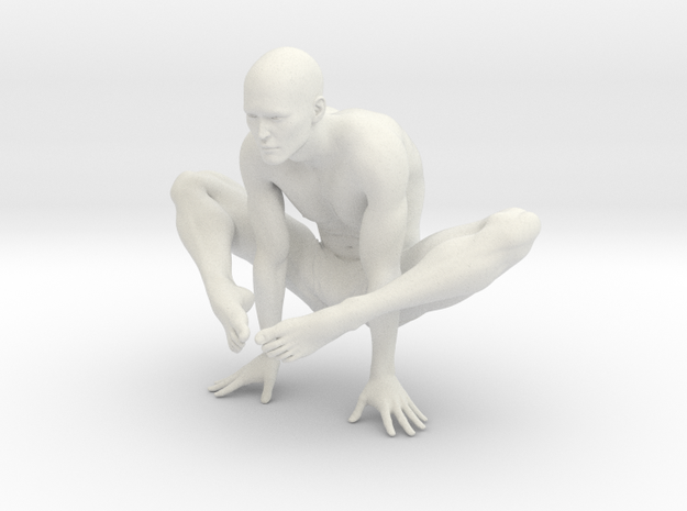 Male yoga pose 002