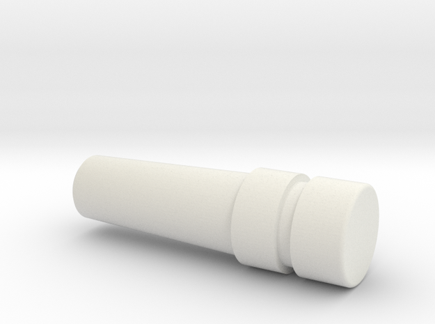 crib_peg_plug in White Natural Versatile Plastic