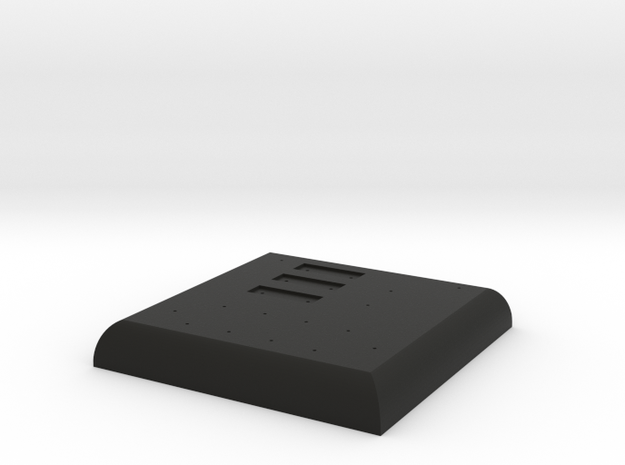Darth Vader OT Chestbox Base 1:1 in Black Natural Versatile Plastic
