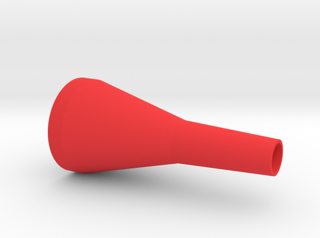 Trombone Mouthpiece Prototype* in Red Strong & Flexible Polished