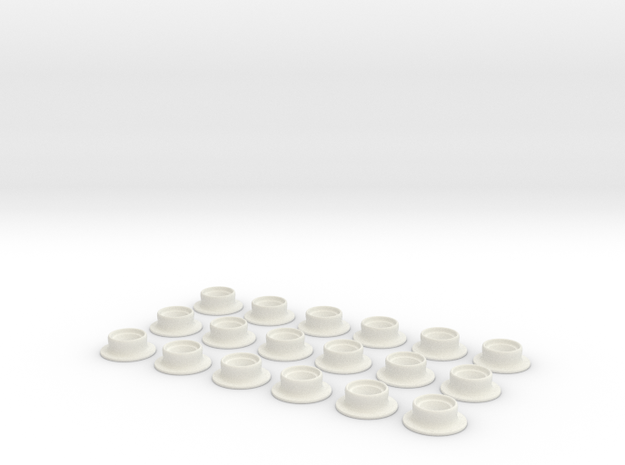 oeillet in White Natural Versatile Plastic