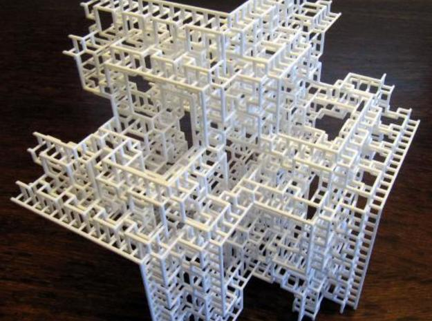 Fractal Graph 3 3d printed Photo 2.
