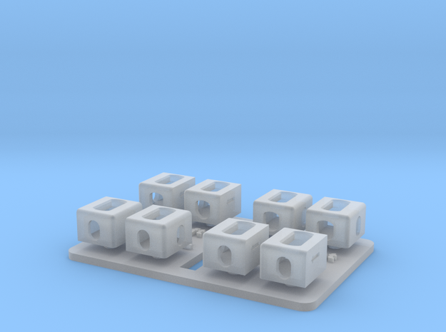 1/35 ISO container corner fittings MSP35-069 in Smooth Fine Detail Plastic