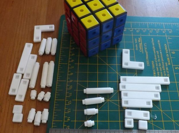Bridge Cube 3d printed