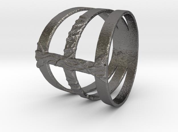 ring_02 in Polished Nickel Steel