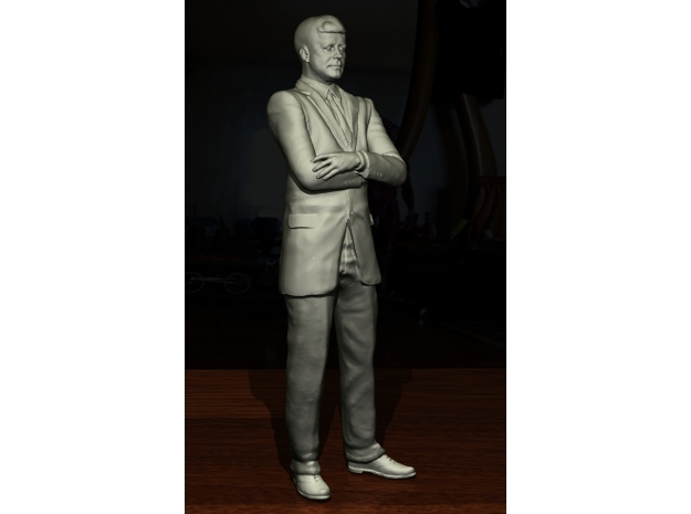 SE JFK figure in Gray PA12