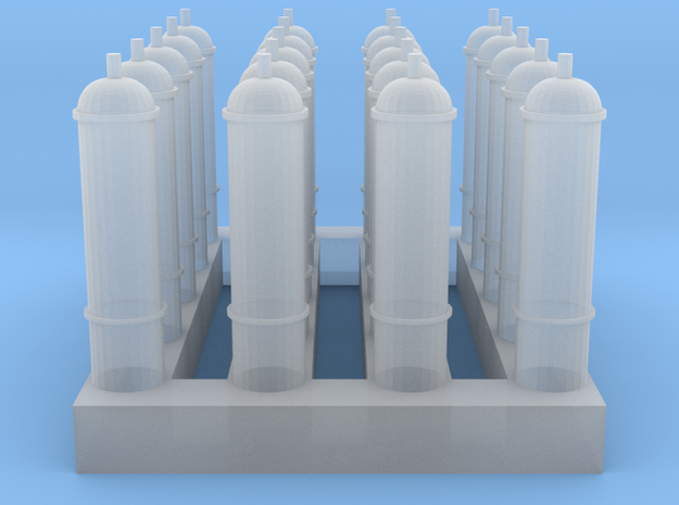 1/64 Aerosol Cans in Smooth Fine Detail Plastic
