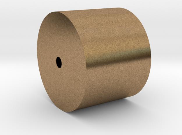 Schwungmasse Messing d13,0-l10,0-i1,5 mm in Natural Brass