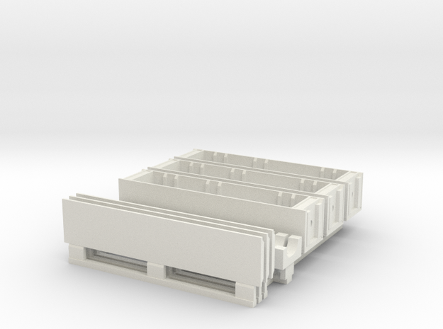 1/18 SPM-18-020-TOW-03 Wooden crates for TOW missi in White Natural Versatile Plastic