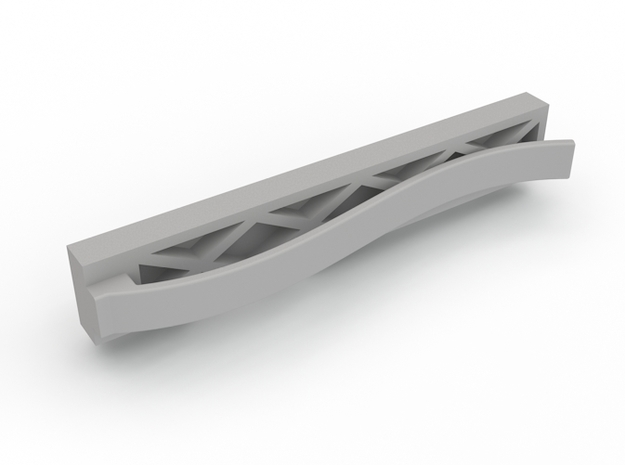 Brick Tie Clip-6 Stud 3d printed Add a caption...