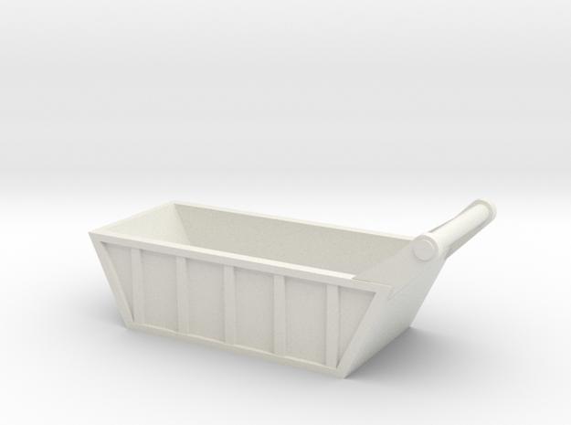 1:87 scale Bedding Box in White Natural Versatile Plastic