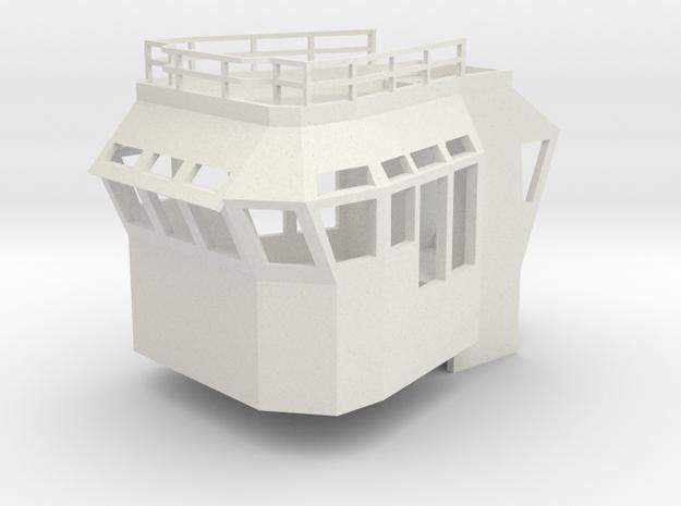 Basic Bridge Superstructure in 1/75 fits Harbor Tu