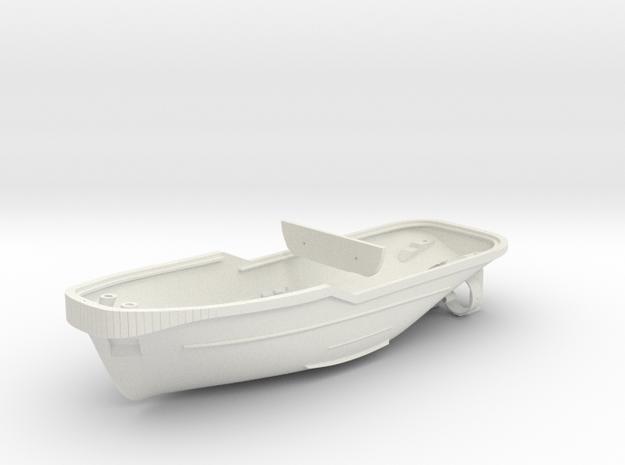 Harbor Tug Hull 1:50 V40 in White Strong & Flexible