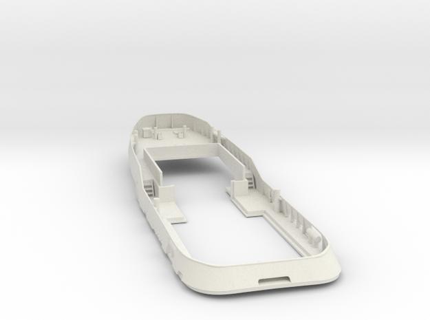 Main Deck & Bullwark 1/50 V56 fits Harbor Tug in White Strong & Flexible