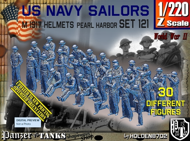 1/220 USN Pearl Harbor set 121 in Frosted Extreme Detail
