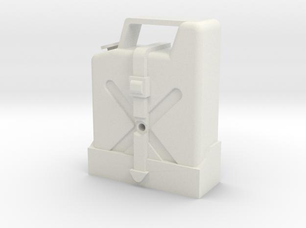 Marui CJ-7/Land Cruiser Gas Can in White Strong & Flexible