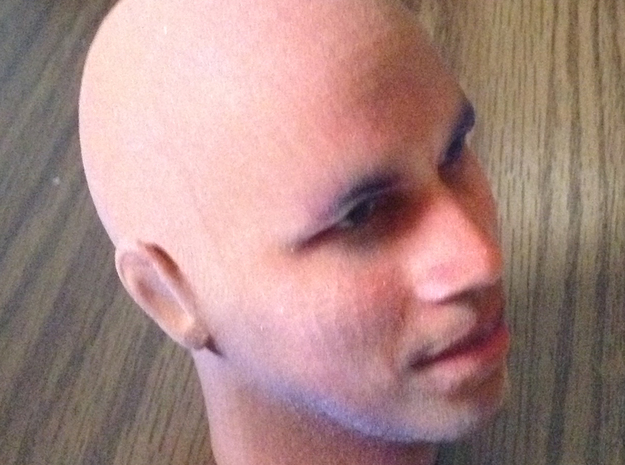"Bald President Obama 3"" tall 3d printed"