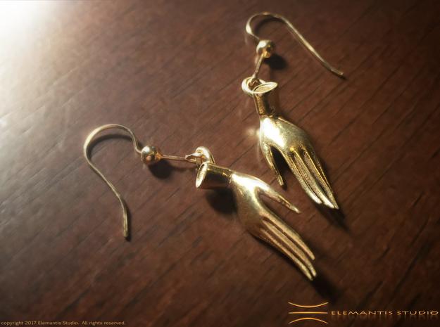 Varada Mudra Earrings 2.5cm