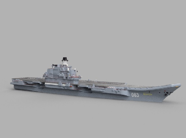 1/1800 RFS Admiral_Kuznetso in Smooth Fine Detail Plastic