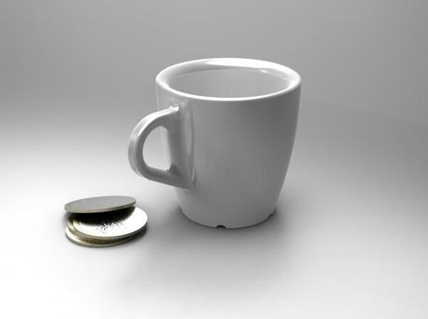 one cup a day | Day 00: BasicCup 3d printed