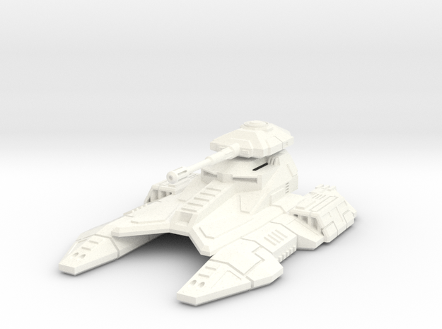 1/72 Imperial Fighter Tank in White Processed Versatile Plastic