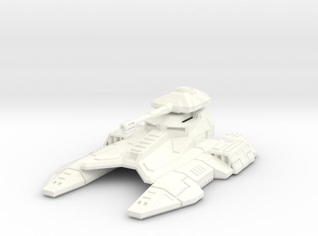 1/72 Imperial Fighter Tank in White Processed Versatile Plastic